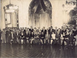 Attendees at a Reception Given by the Mayor of Lima