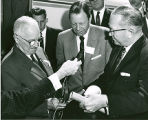 Jack Christian with President Harry Truman