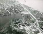 Aerial view of downtown Baton Rouge