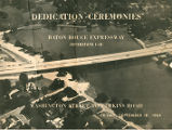 Booklet for I-10 Dedication Ceremony