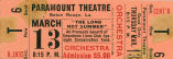 "Ticket to the world premier of ""The Long Hot Summer"""