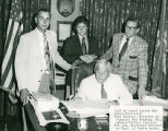 Mayor Dumas and Members of his Administration