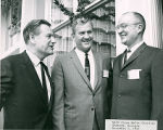 Woody Dumas with Nelson Rockefeller