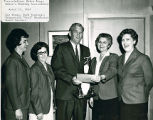 Mayor Dumas Receiving an Award from the Baton Rouge Bowling Association