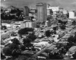 Aerial View of Downtown Baton Rouge Looking Southwest