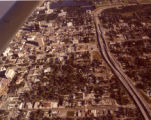 Aerial View of Downtown Baton Rouge Looking North