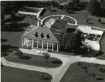Aerial view of the new Governor's Mansion
